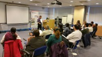 CliniCall BLS training at the Royal Preston Hospital