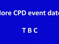 More CPD events to be announced
